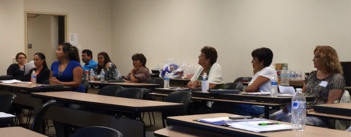 Promotora training group