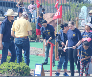 Mini-Golf, Big Difference: Sunrise Rotary Club Gives Back