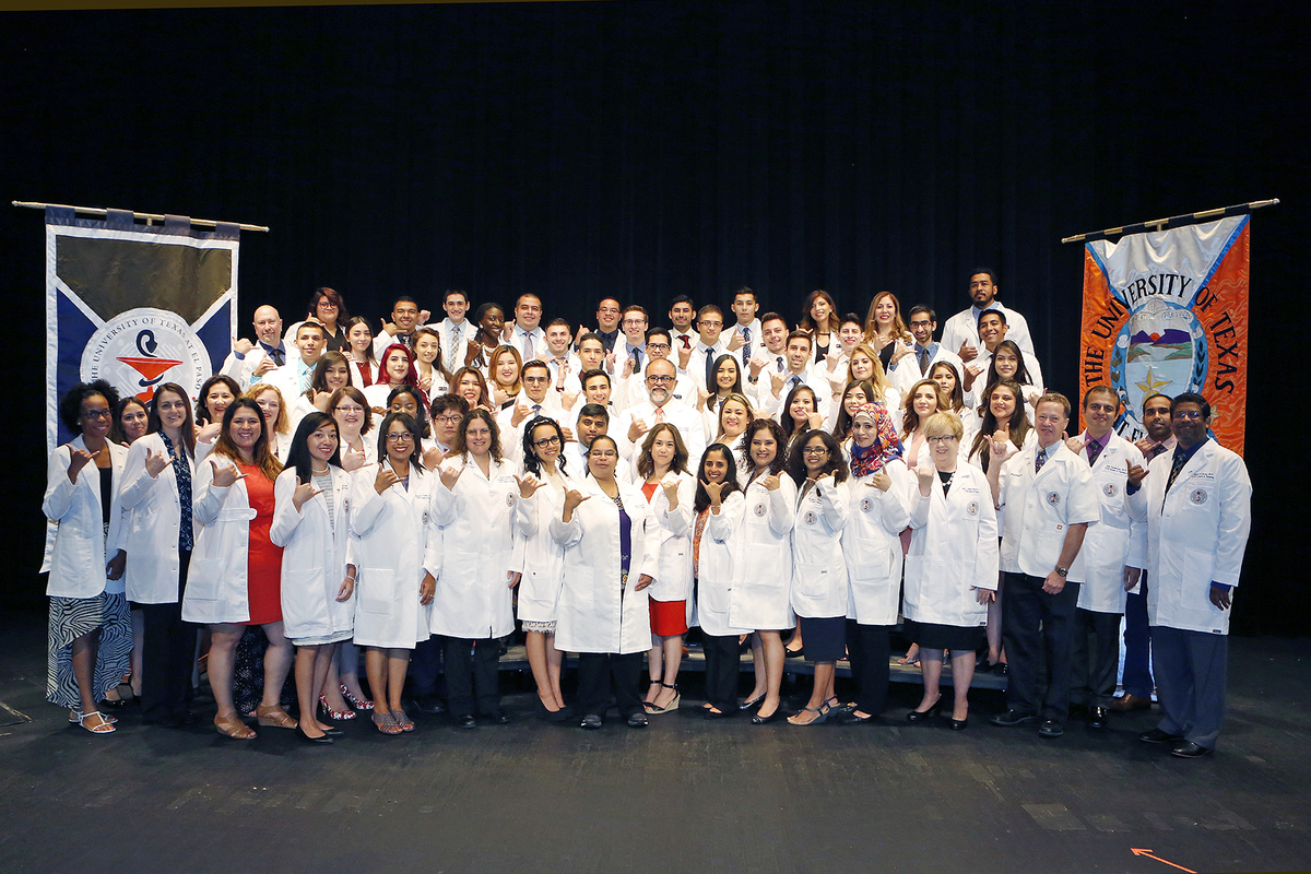 White coat ceremony 620 dr. rivera
