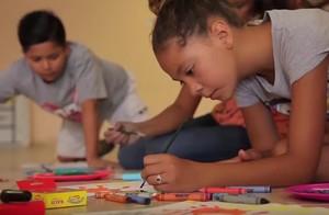 Opi kids painting