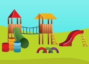 Playground graphic crop