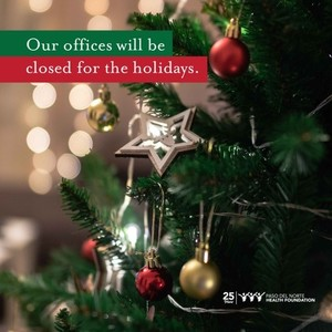 Office closed holidays