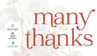 A message of gratitude